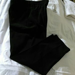Talbots ladies black microfiber pants